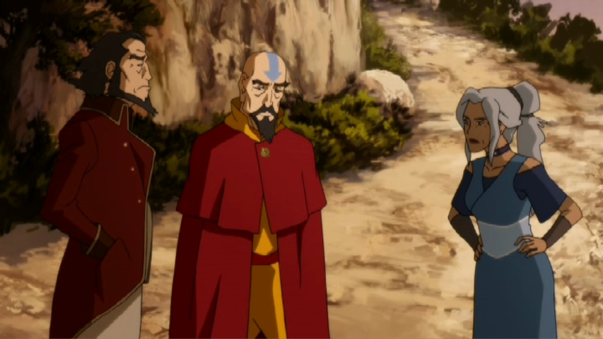 LegendOfKorra0203 BumiTenzinKya TV Review: The Legend of Korra Civil Wars Part 1