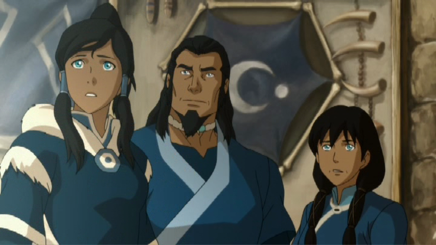 LegendOfKorra0203 KorraFamily021 TV Review: The Legend of Korra Civil Wars Part 1