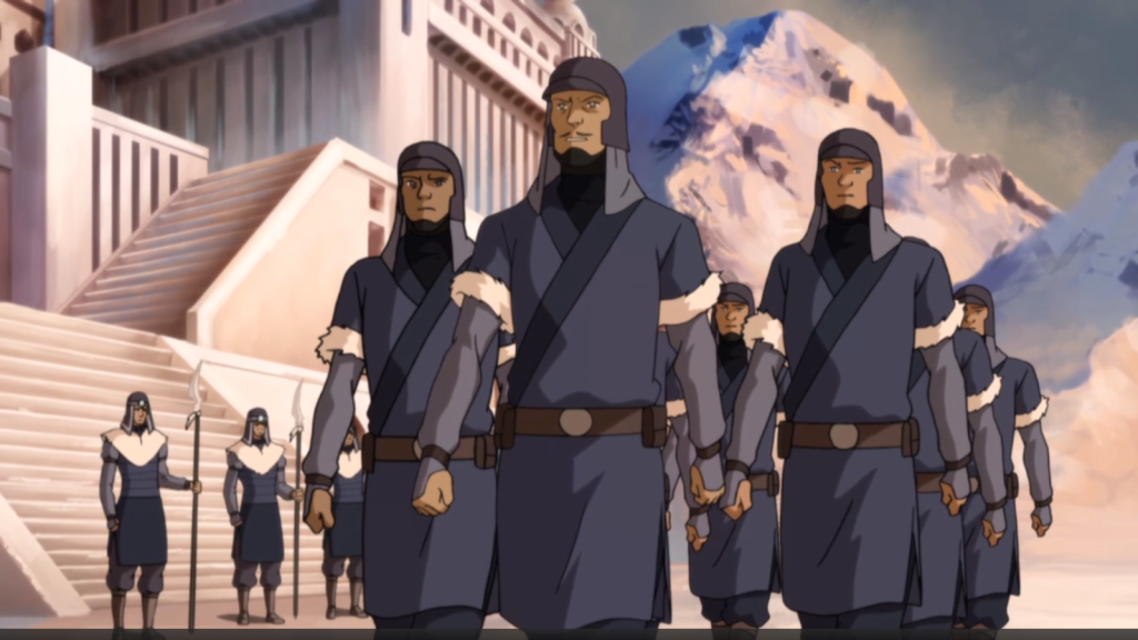 Northern Soldiers1 1024x576 TV Review: The Legend of Korra Civil Wars Part 1
