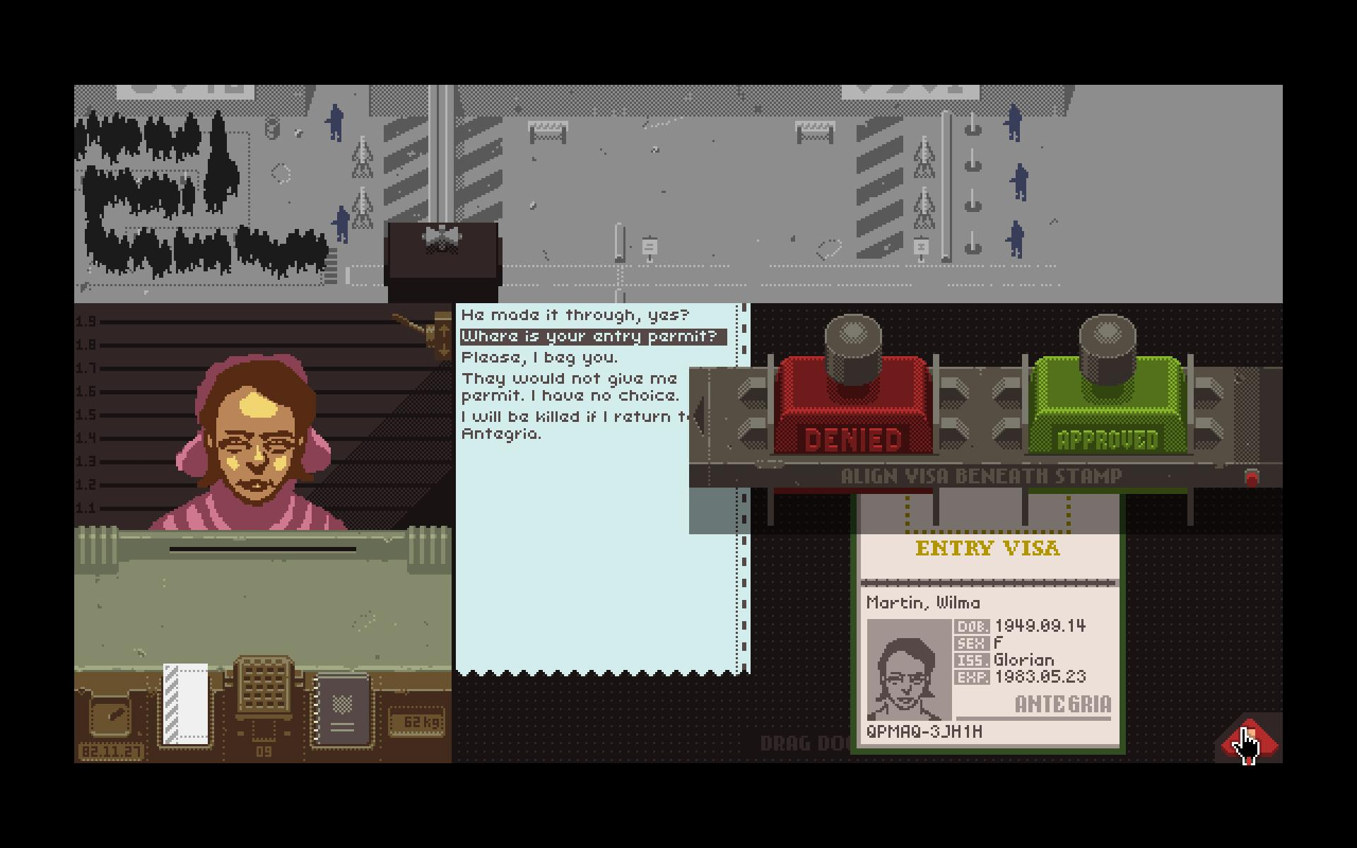 Papers Please Killed Video Game Review: Papers, Please