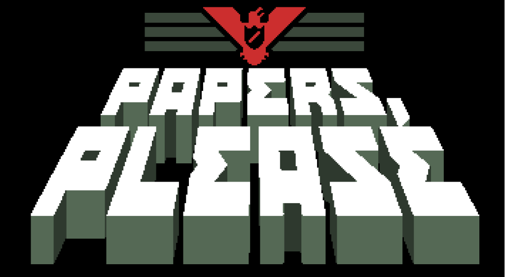 PapersPleaseLogo 1024x563 Video Game Review: Papers, Please