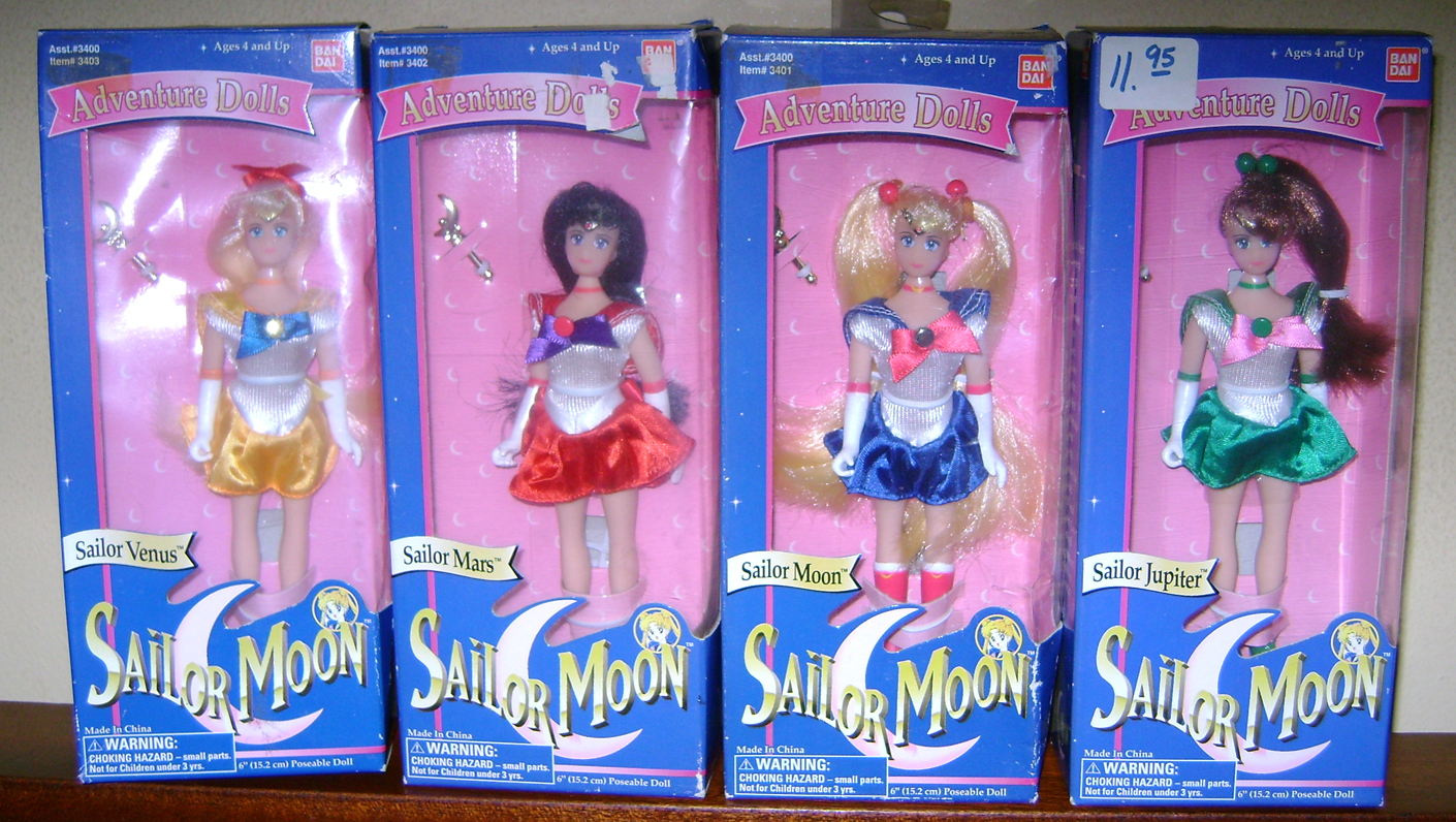 SM 12 Vintage Toy Of The Month: Sailor Moon Dolls!