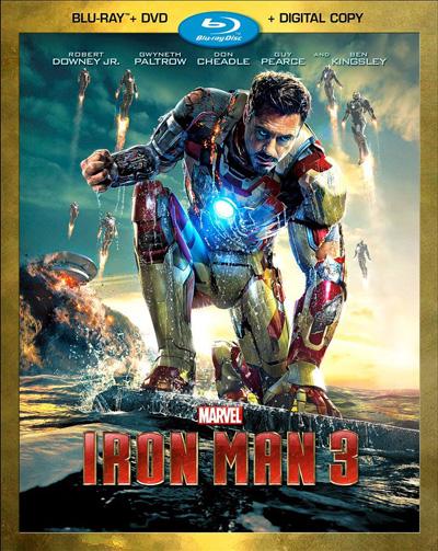 im3 Blu Ray Review: Iron Man 3