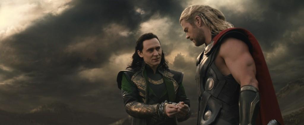 LokiThor 1024x422 Movie Review: Thor The Dark World