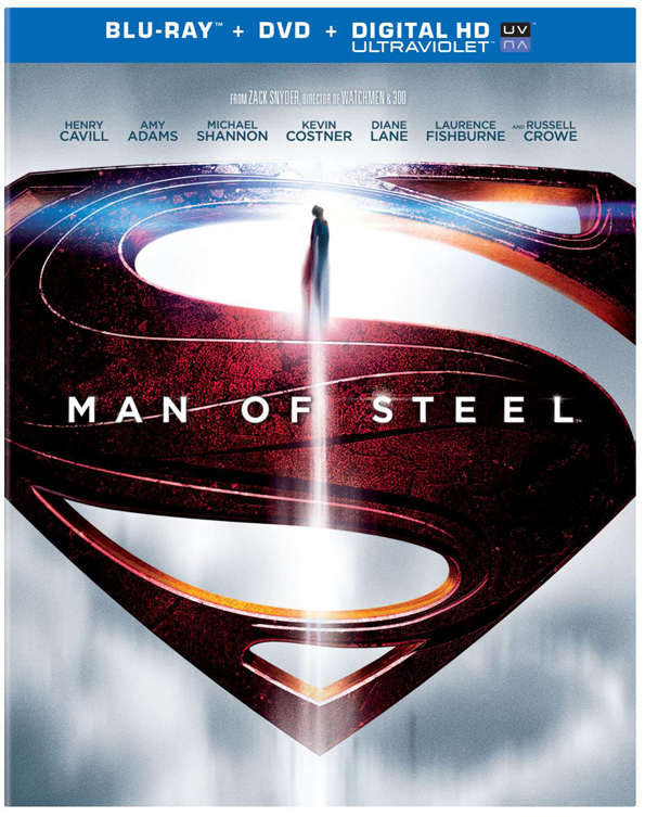 man of steel blu ray cover1 Blu Ray Review: Man Of Steel
