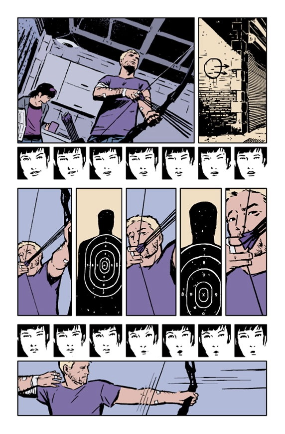 Hawkeye 2 Preview3 Comic Book Review: Hawkeye Vol 1 My Life as a Weapon