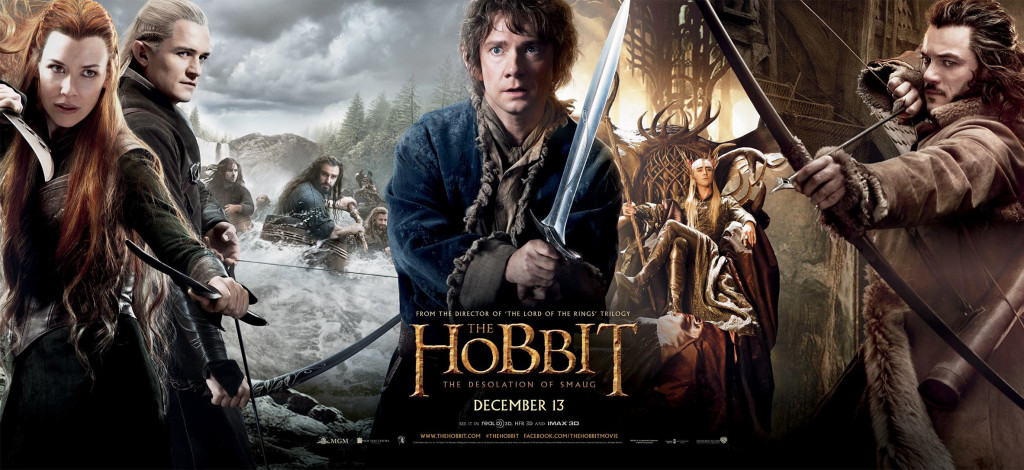 the hobbit the desolation of smaug banner 2 1024x470 Movie Review: The Hobbit Desolation of Smaug (Small Spoilers!)