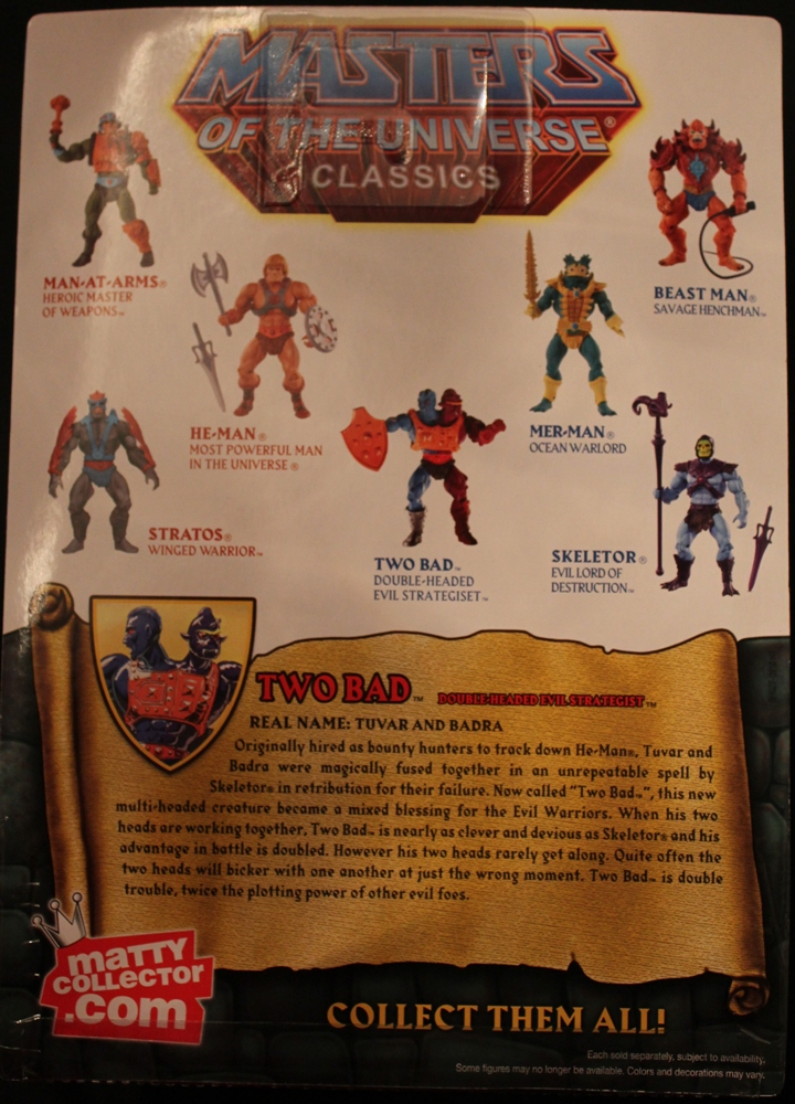 060 Masters of the Universe Classics: Jan  Two Bad!