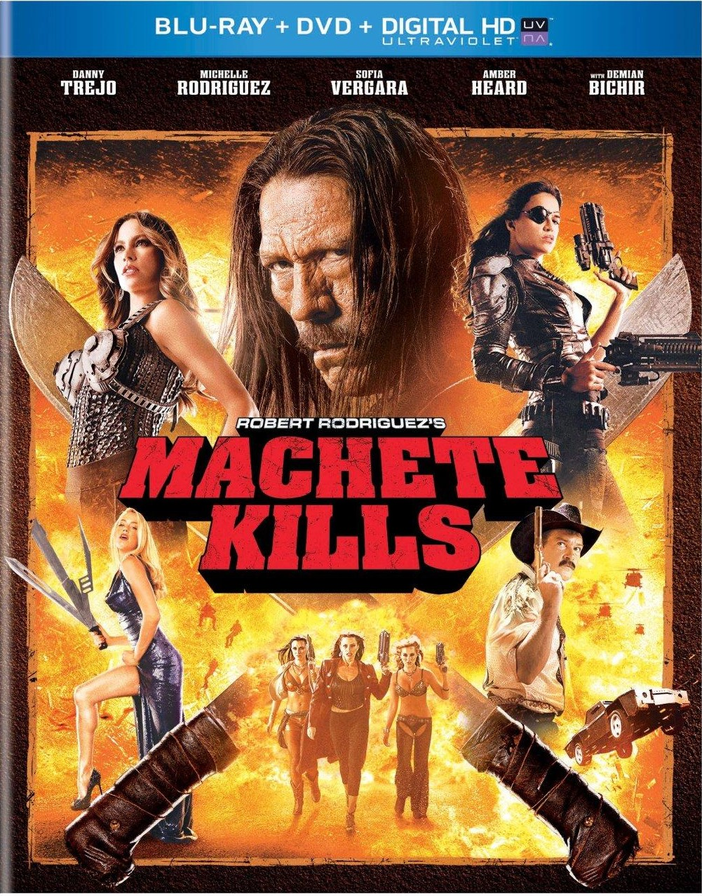 Machete Kills: Blu-Ray, DVD Review!