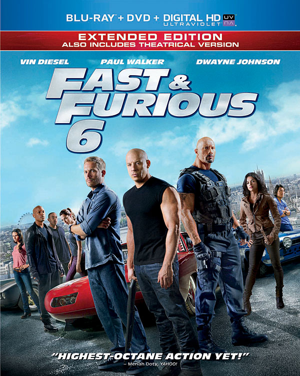 fastfurious6 Blu Ray Review: Fast & Furious 6