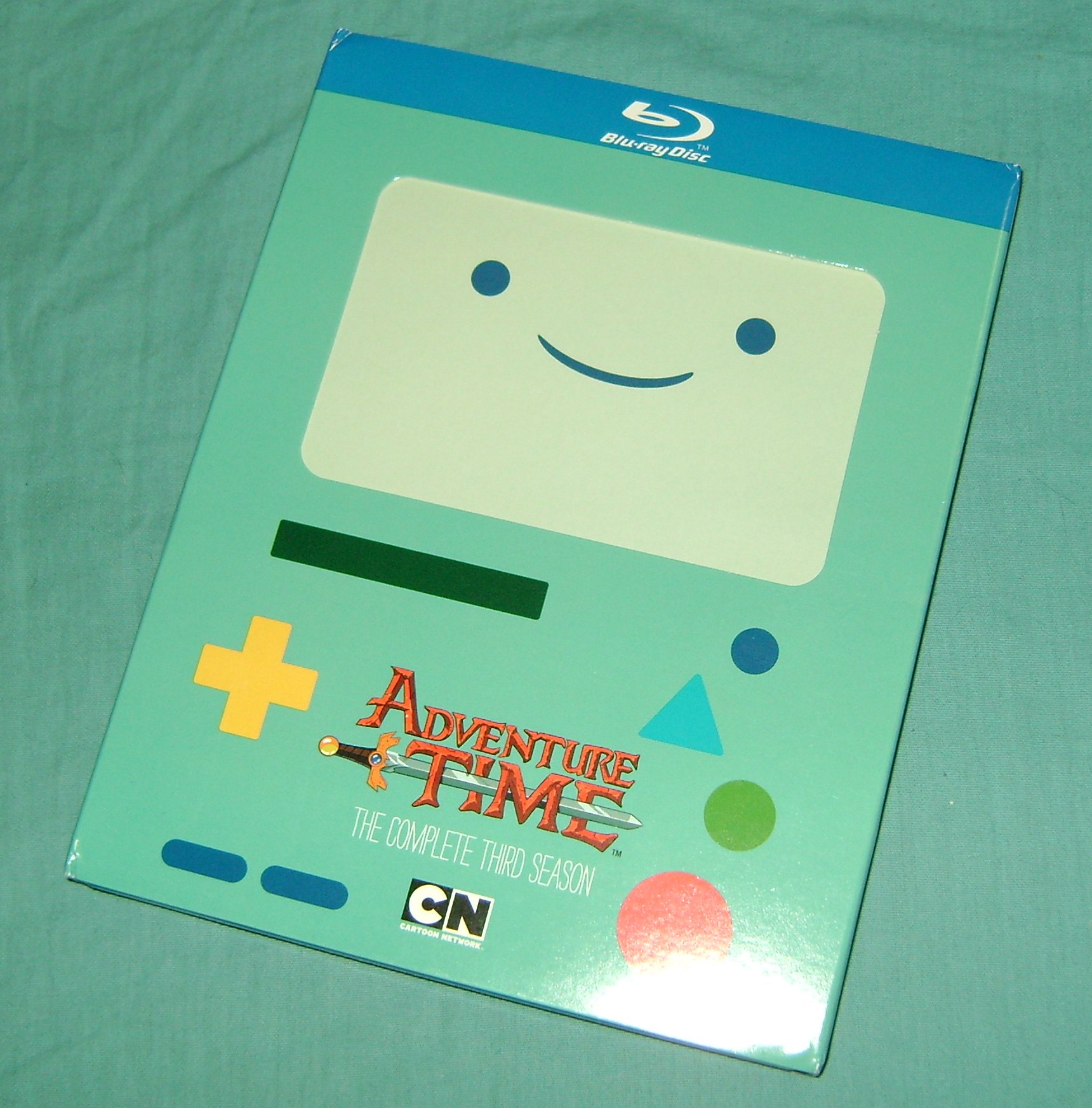 ADT1 Adventure Time: The Complete Third Season, Blu ray Review!