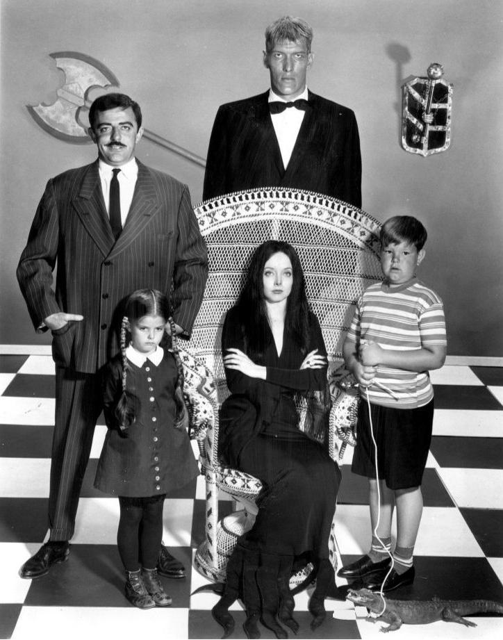 AF BW The Addams Family: A Celebration.