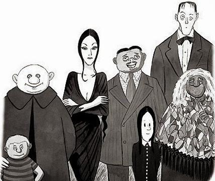 AF comic The Addams Family: A Celebration.