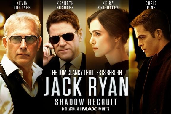 Movie Review: Jack Ryan: Shadow Recruit.