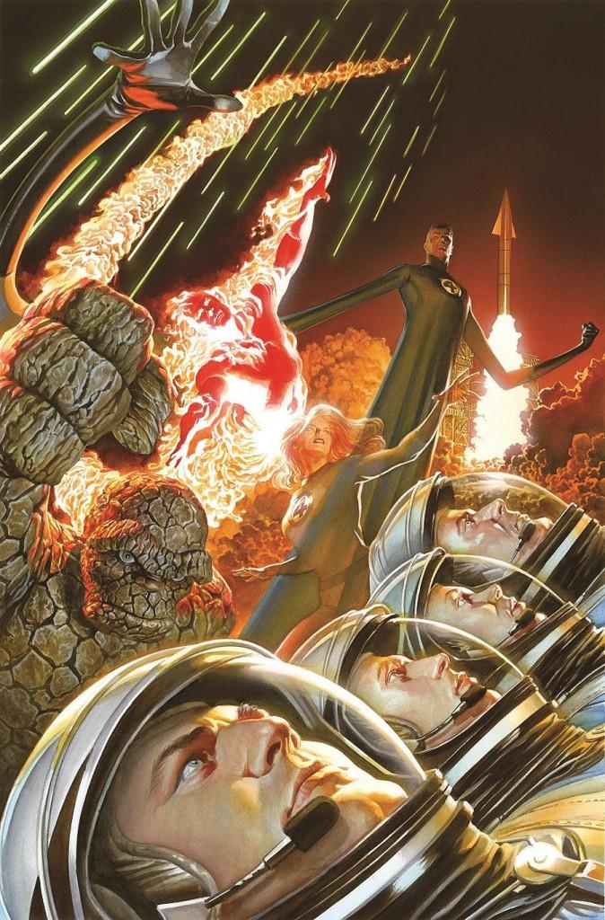 fantastic four alex ross 674x1024 Comic Book Review: Fantastic Four #1