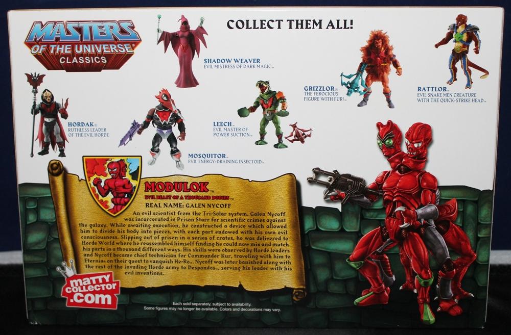 004 Masters of the Universe Classics: Feb Part 1  Modulok