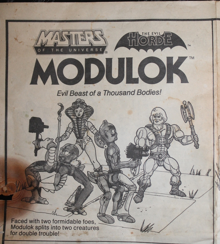 005 Vintage Toy of the Month: Modulok!