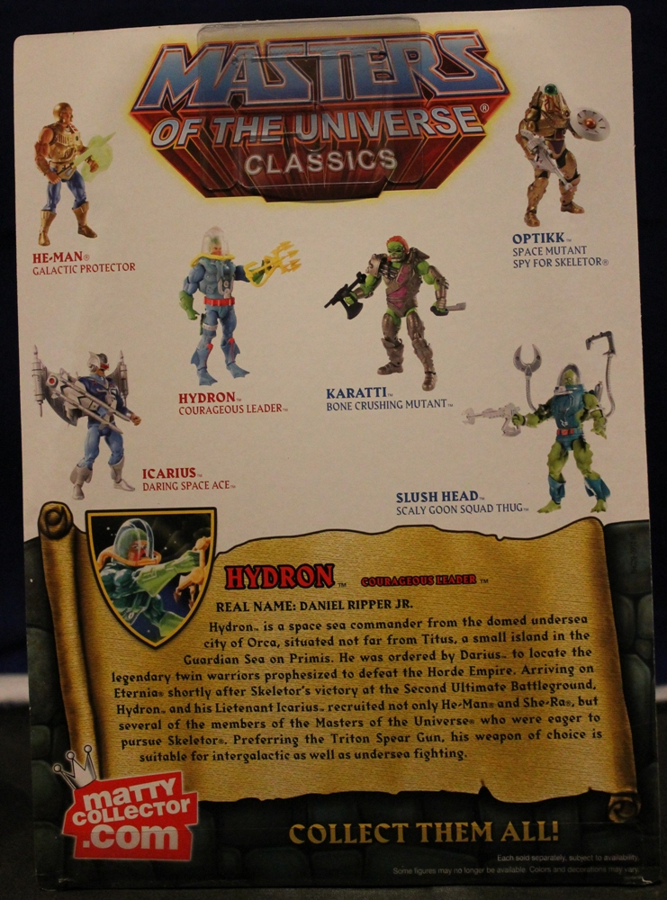 0051 Masters of the Universe Classics: March  Hydron and the Unnamed One!