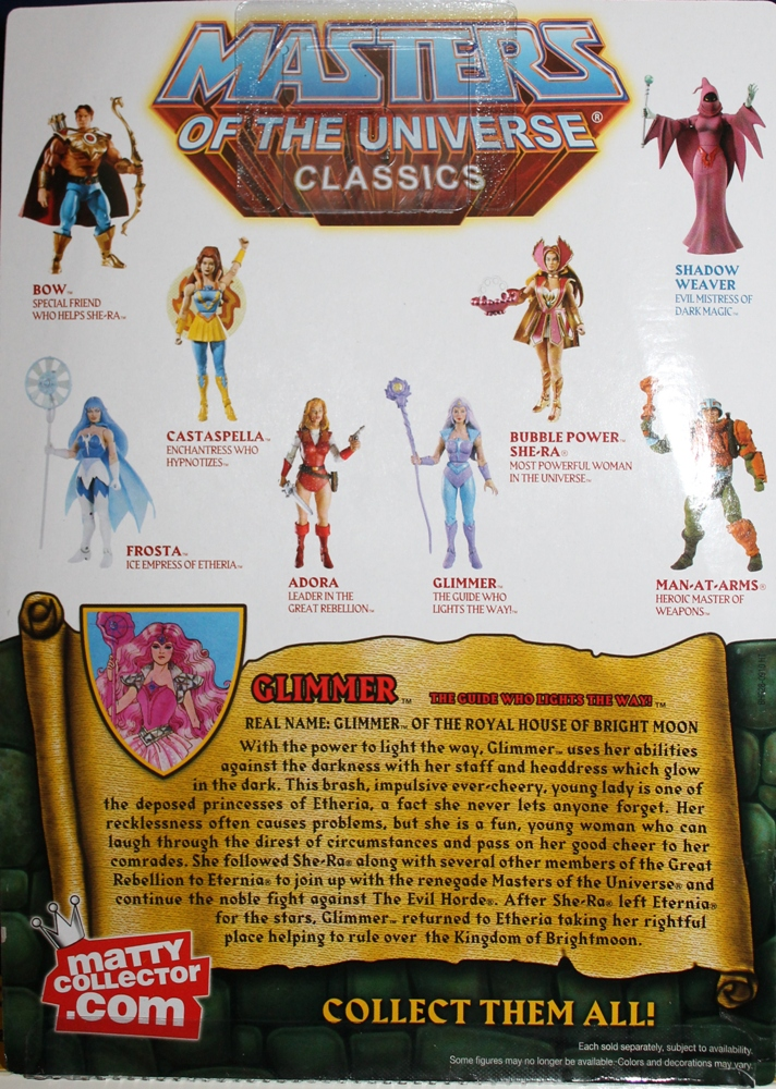 014 Masters of the Universe Classics: Feb Part 2  Glimmer!