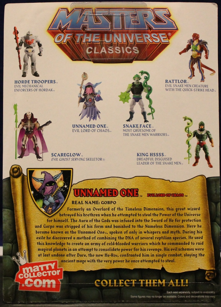 0162 Masters of the Universe Classics: March  Hydron and the Unnamed One!