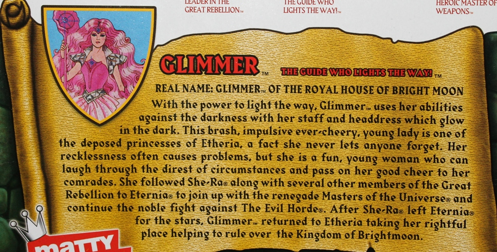 017 Masters of the Universe Classics: Feb Part 2  Glimmer!