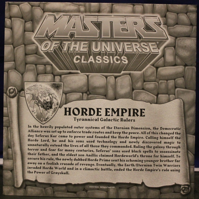0191 Masters of the Universe Classics: March  Hydron and the Unnamed One!
