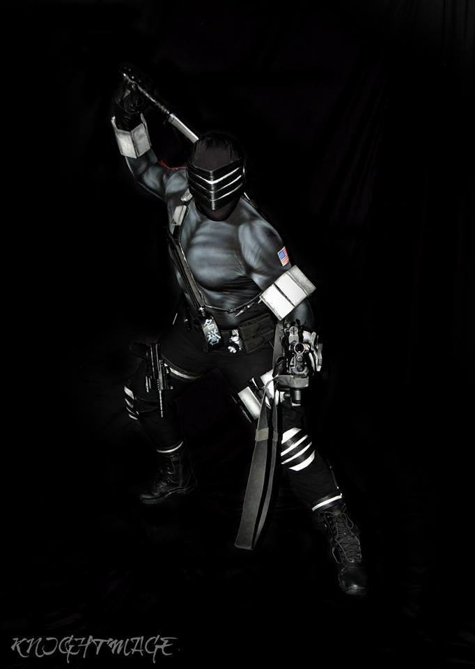 Snake Eyes Cosplay Interview With Knightmage!