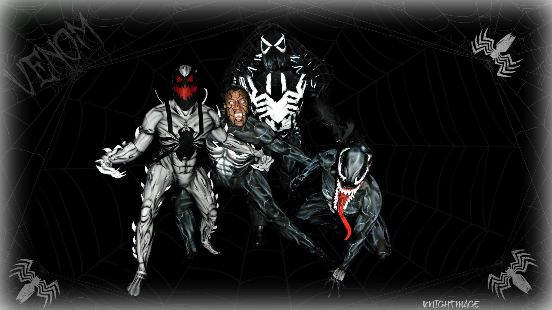Venom Mixed Cosplay Interview With Knightmage!