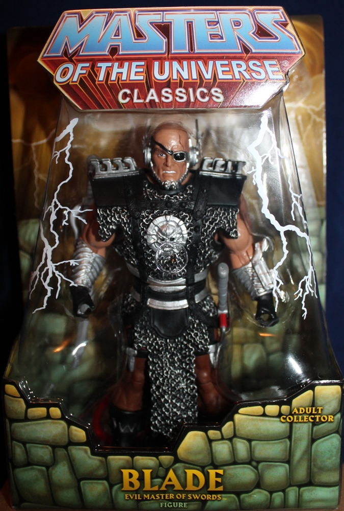 081 Masters of the Universe Classics: April  Blade!