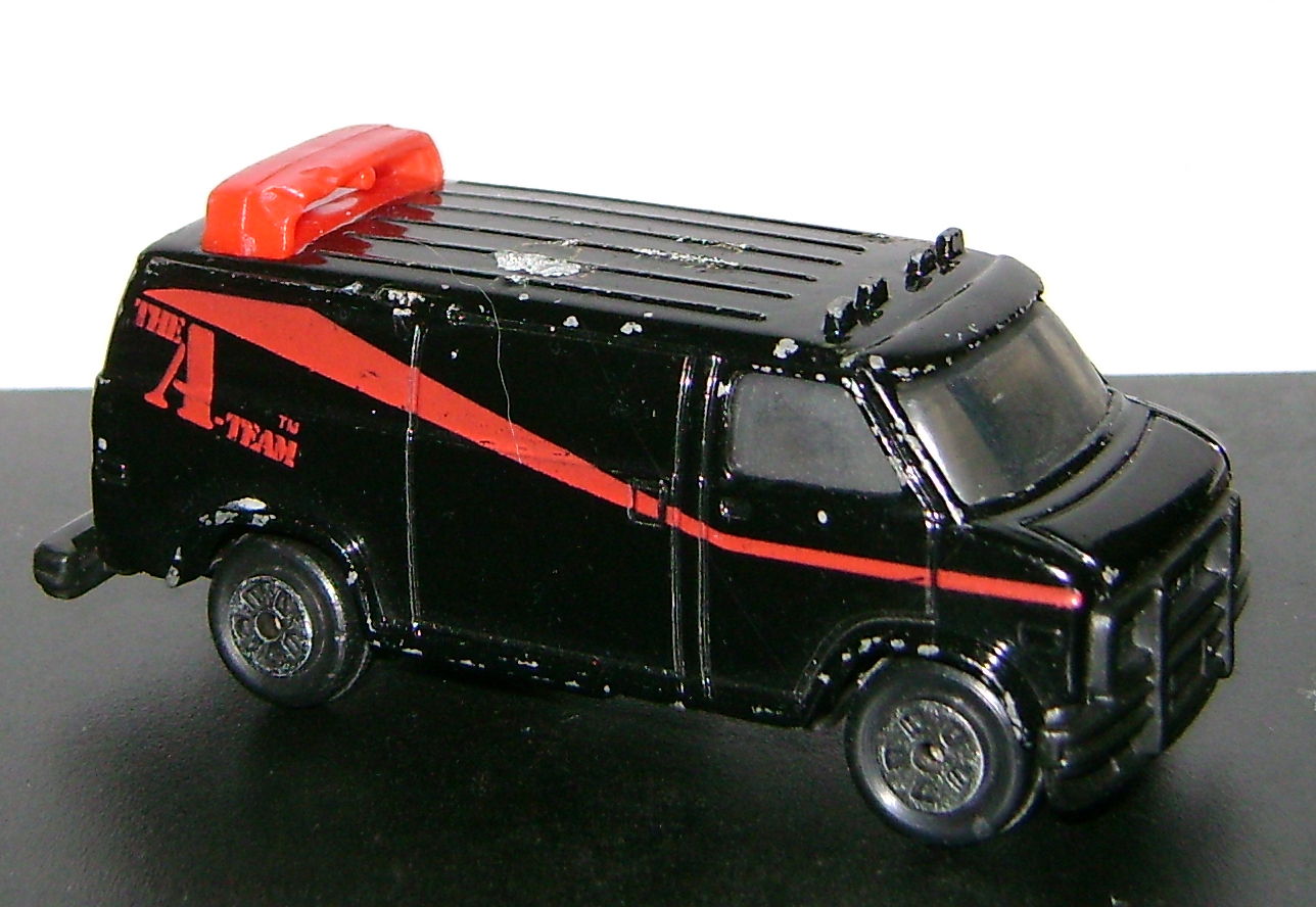 AVan 2 Vintage Toy Of The Month:  The A Team!