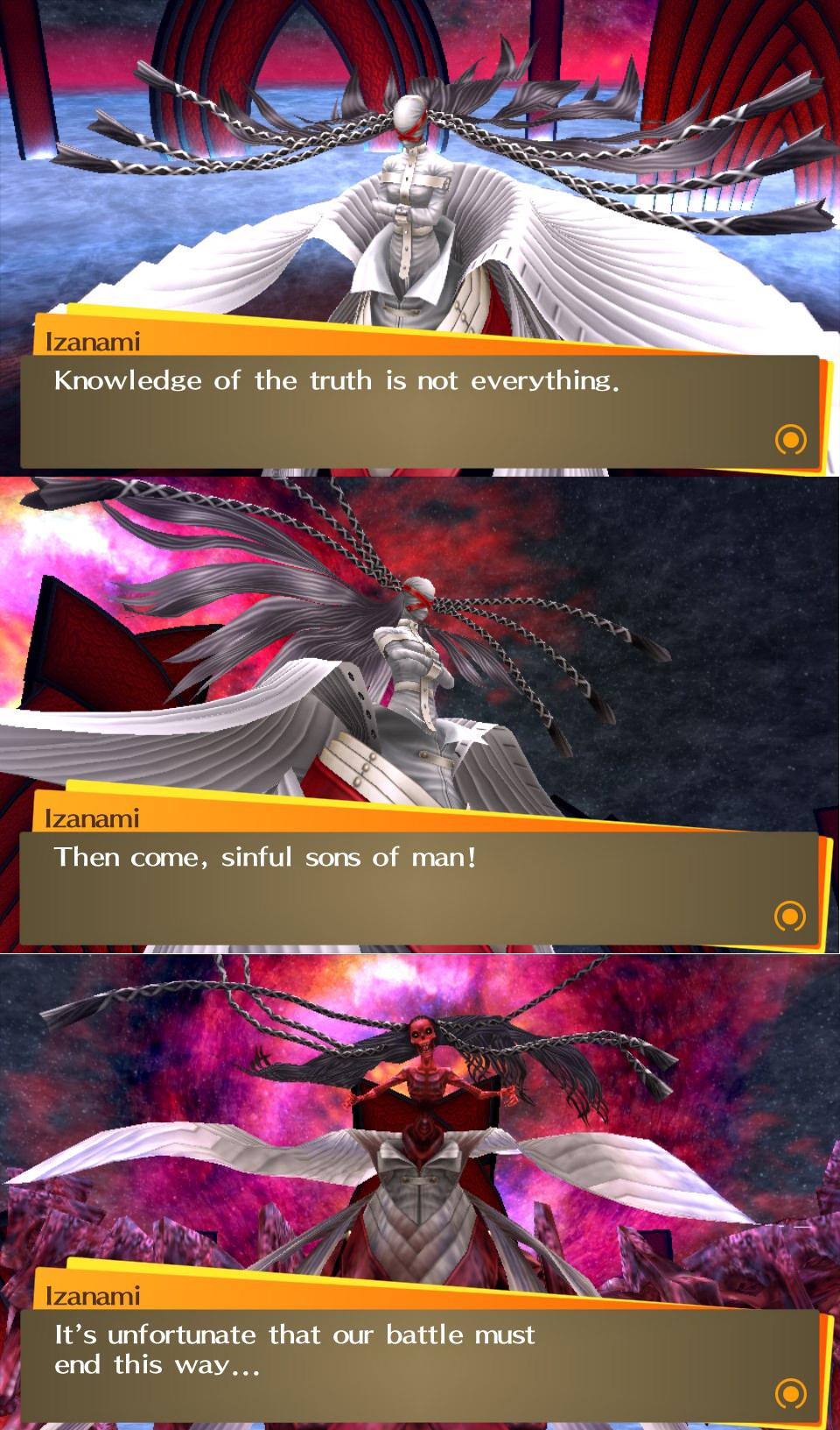 Izanami Persona 4: The Golden; Pictorial!
