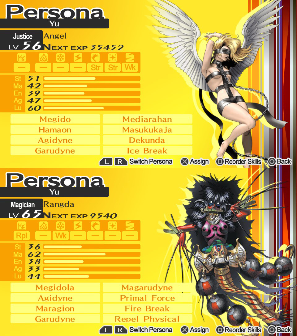 Top Per 4 Persona 4: The Golden; Pictorial!
