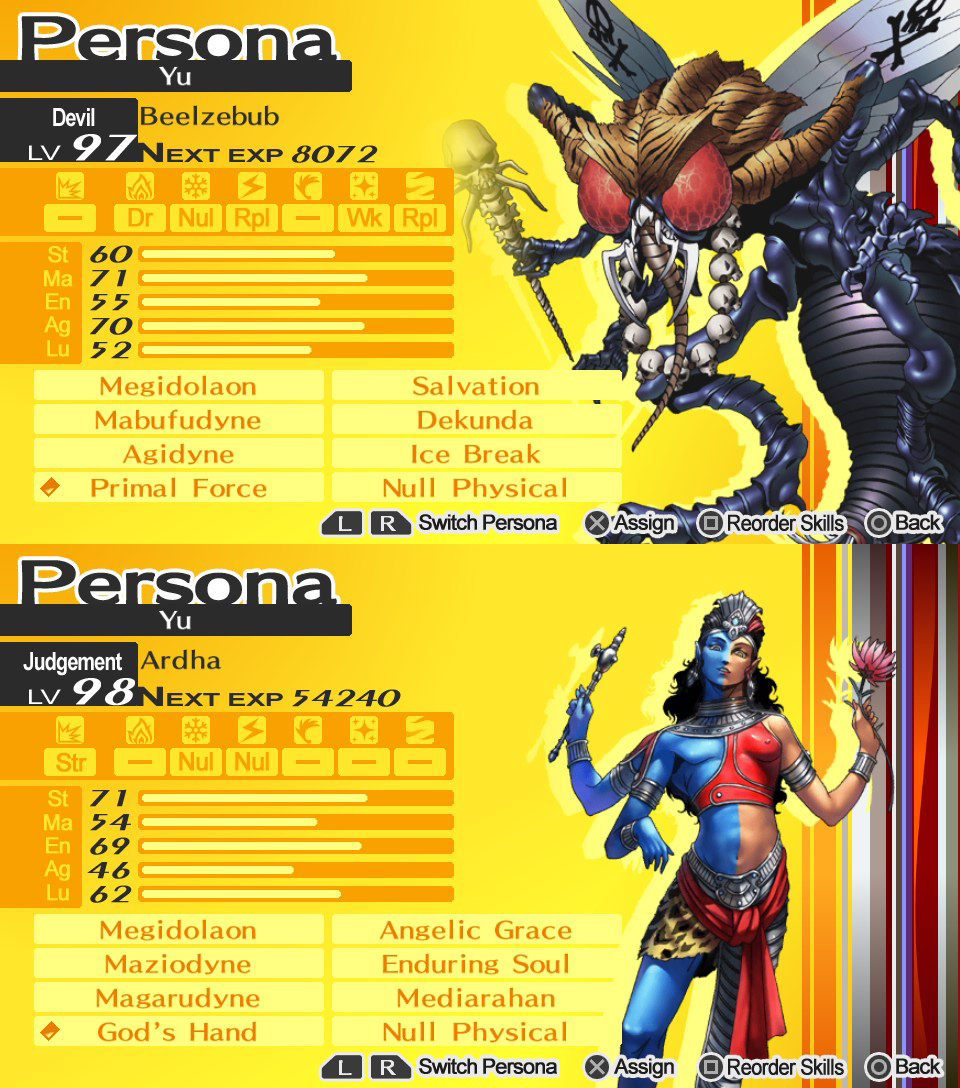 Top Per 5 Persona 4: The Golden; Pictorial!