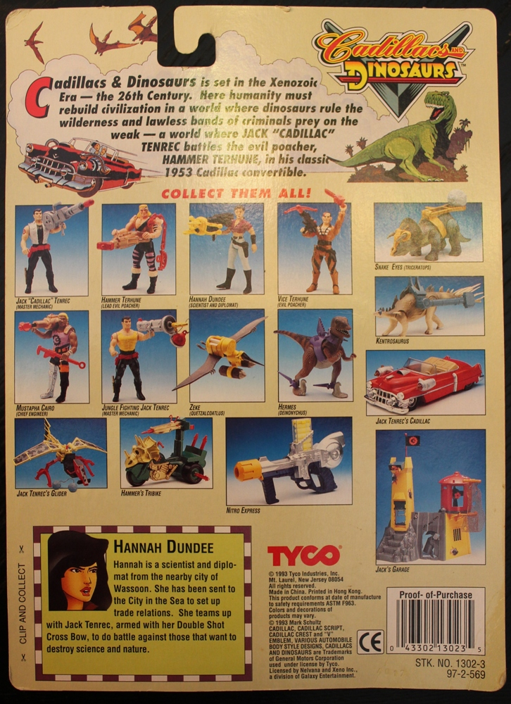 019 Vintage Toy of the Month: Cadillacs and Dinosaurs!