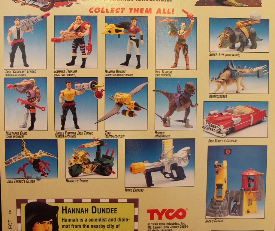 021 Vintage Toy of the Month: Cadillacs and Dinosaurs!