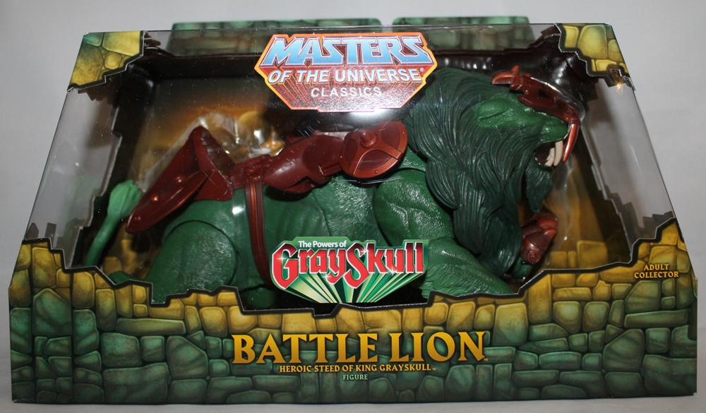 105 Masters of the Universe Classics: May  Battle Lion and Scorpia!