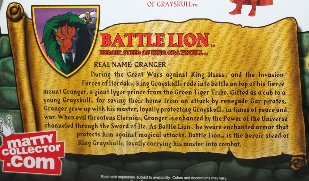 109 Masters of the Universe Classics: May  Battle Lion and Scorpia!