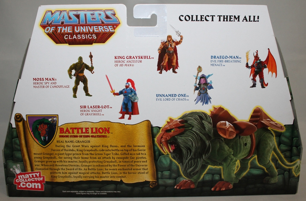 111 Masters of the Universe Classics: May  Battle Lion and Scorpia!