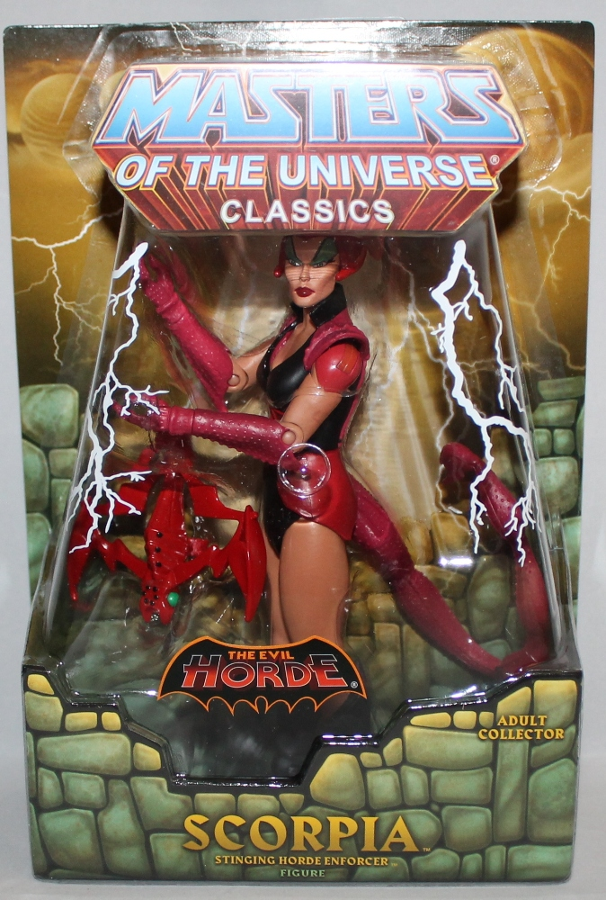 116 Masters of the Universe Classics: May  Battle Lion and Scorpia!