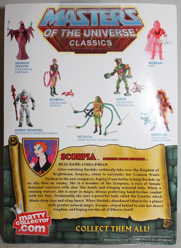 118 Masters of the Universe Classics: May  Battle Lion and Scorpia!