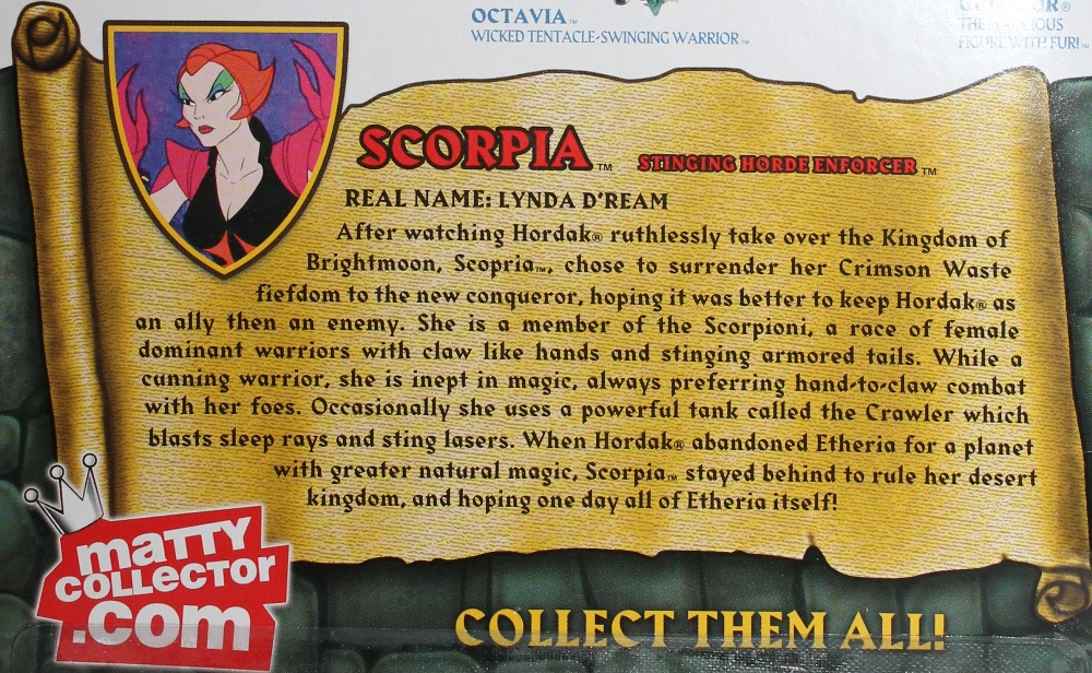 123 Masters of the Universe Classics: May  Battle Lion and Scorpia!