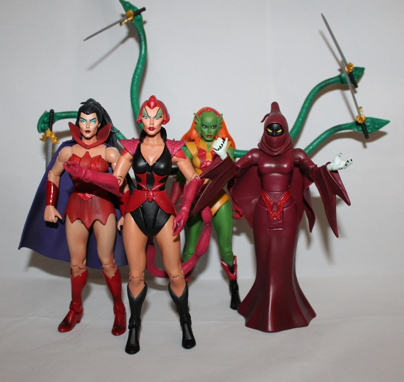 135 Masters of the Universe Classics: May  Battle Lion and Scorpia!