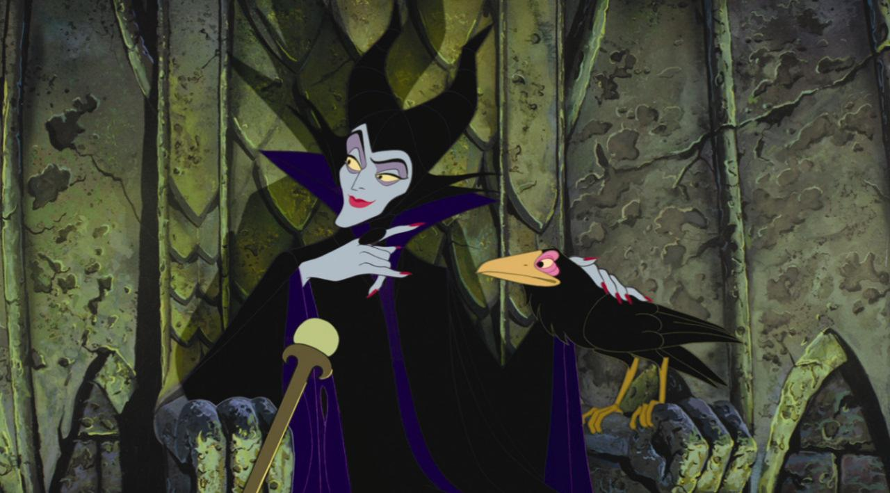Maleficent and Disney witches