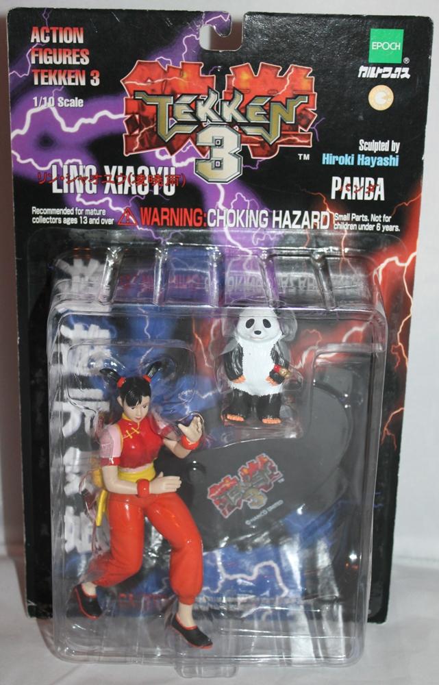 010 Vintage Toy of the Month: Tekken 3!