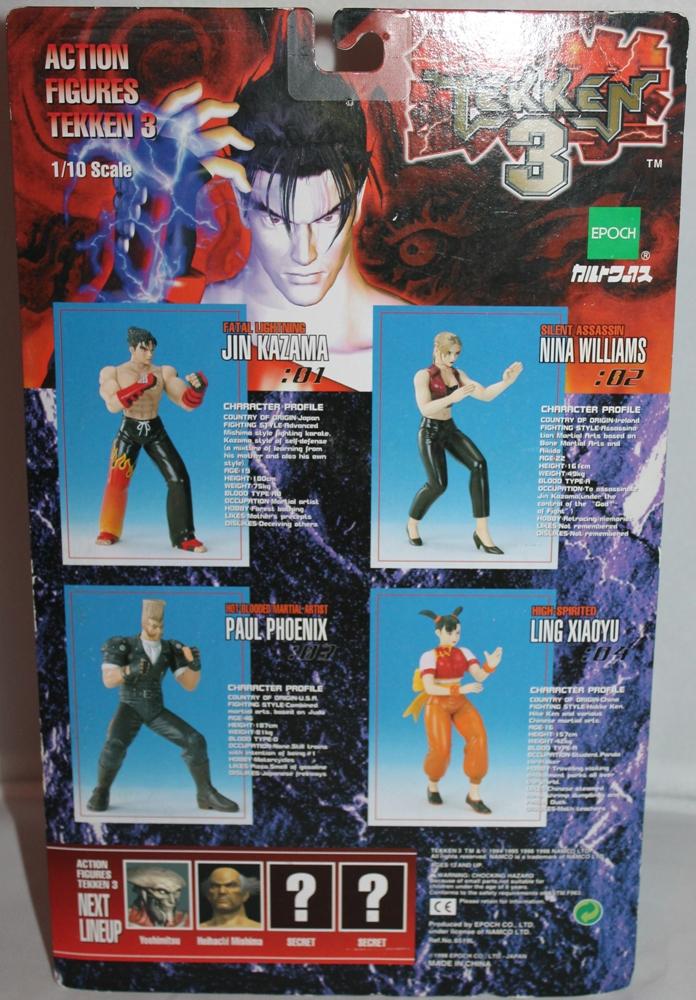 014 Vintage Toy of the Month: Tekken 3!