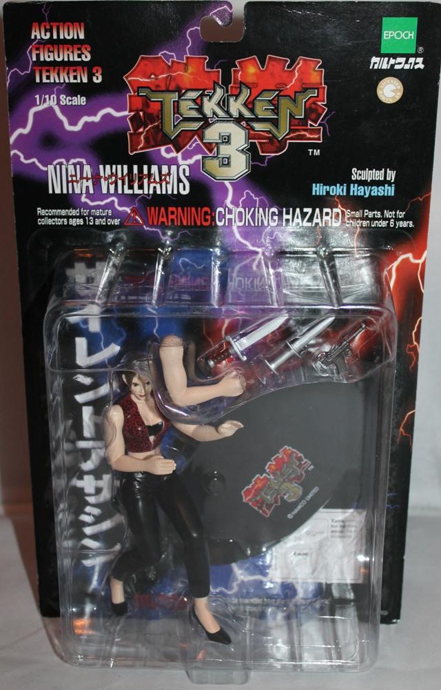 020 Vintage Toy of the Month: Tekken 3!