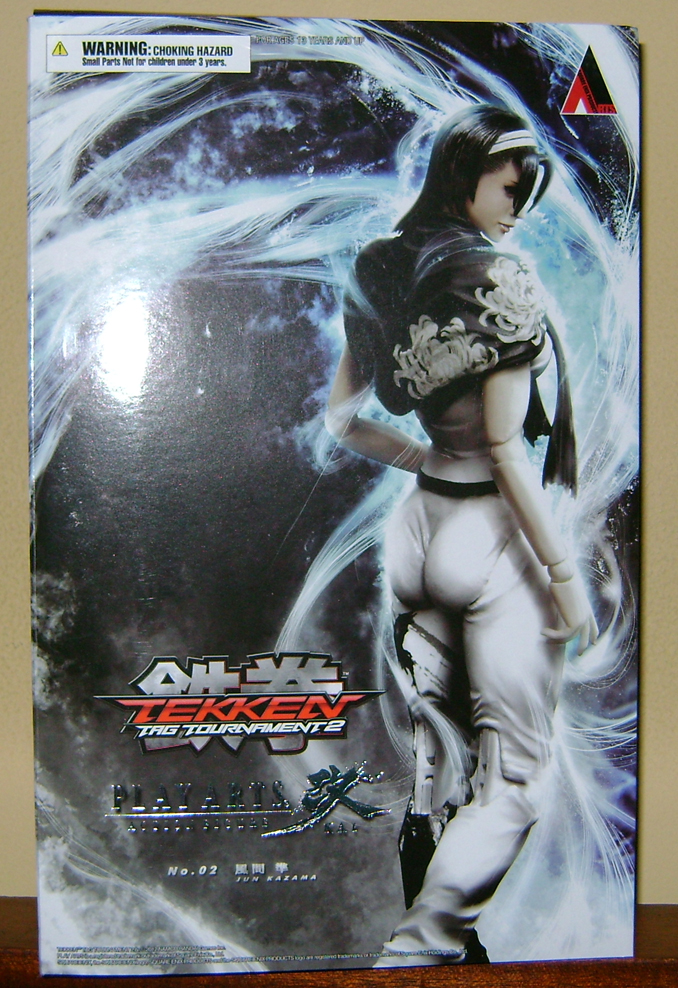 Jun K 1 Jun Kazama: Playarts Toy Review!