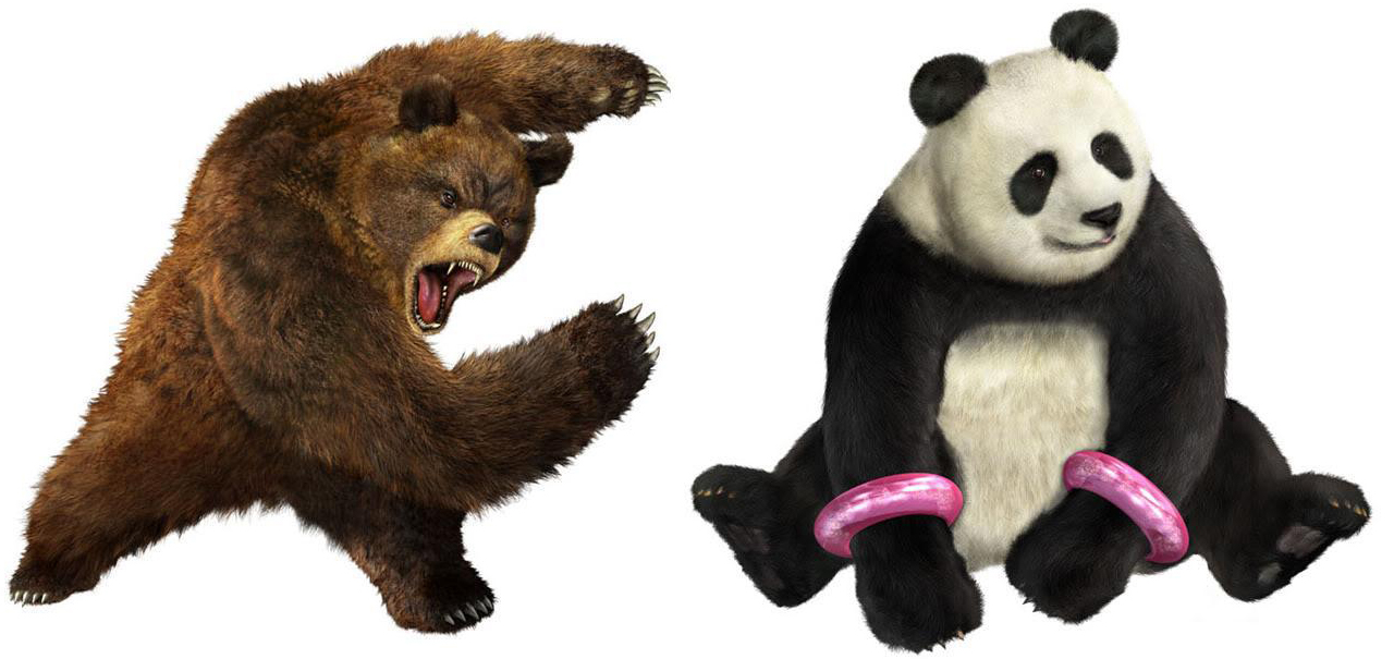 PRT 4 Panda and Kuma Tekken MZ Fan Fiction: Part 4.