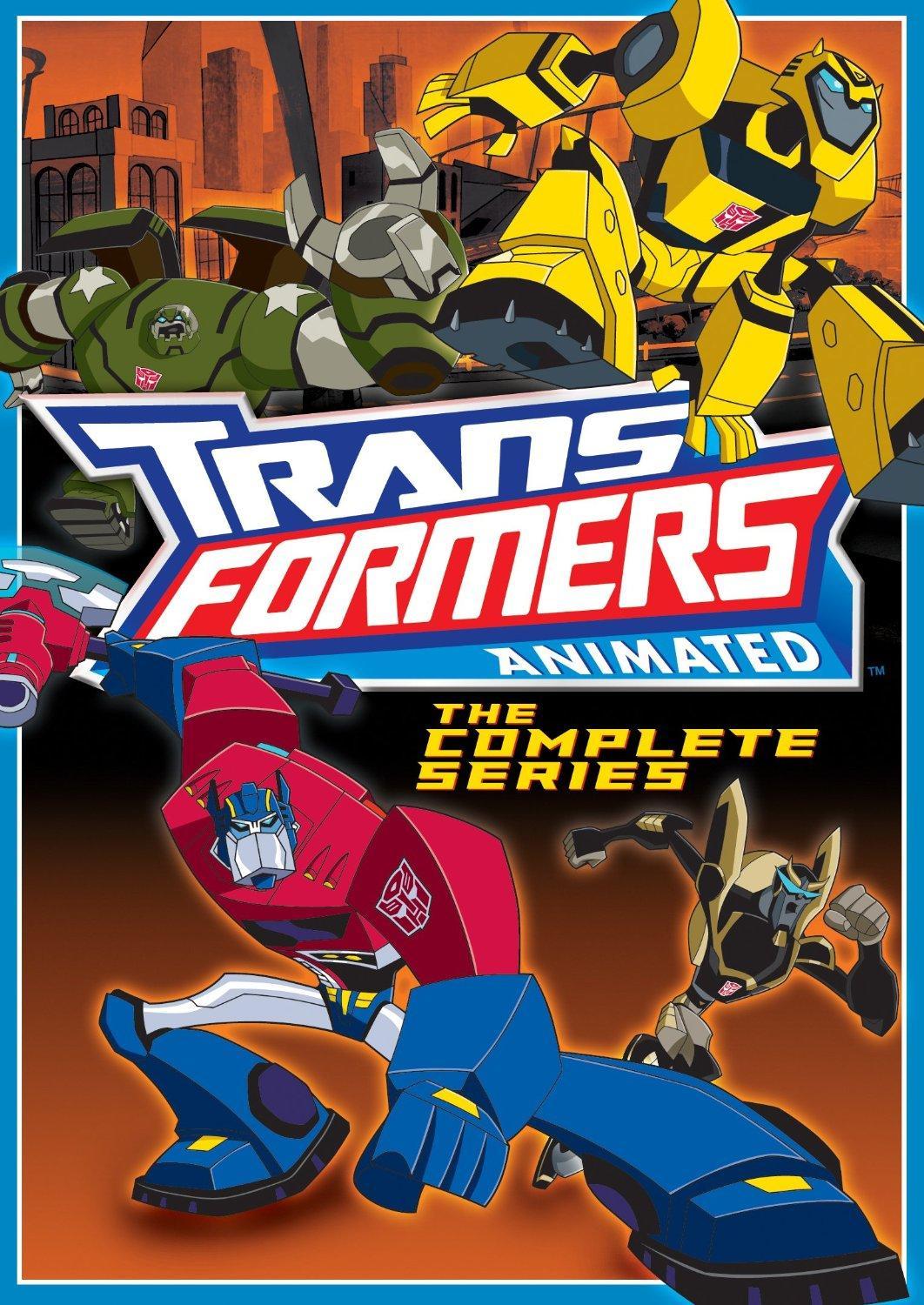 Transformers Animated: The Complete Series; DVD Review!
