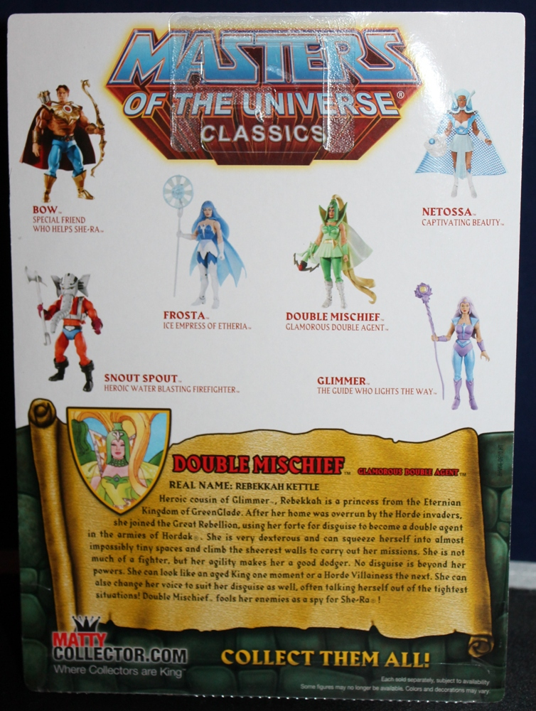 181 Masters of the Universe Club Etheria: July  Double Mischief!